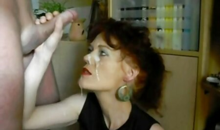 Gordito perforado puta toma semen en las tetas después de la veteranas gordas desnudas mamada