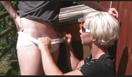 Joven masajista veteranas tetonas follando encantos clientes en caliente lesbiana maldito con su