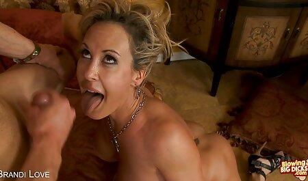 Sensual Sabrina se porno con veteranos la follan y cubierto de esperma en su culo